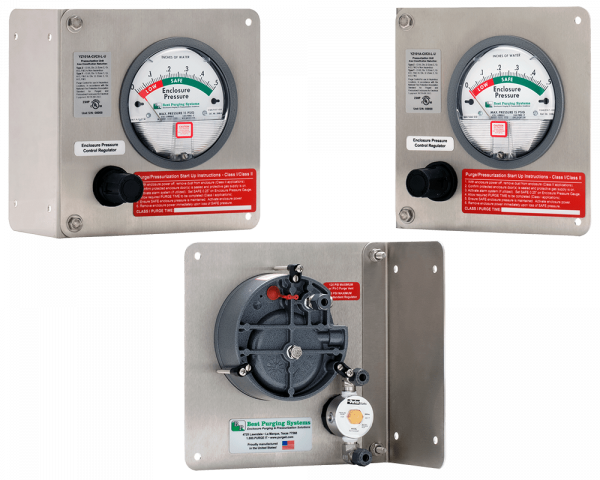 Best Purging Systems Model 101A Universal Mount Purge Unit - UL Listed NFPA 496 Type Z Enclosure Purging Unit and Type Z Pressurization System, less Pressure Loss Alarm Switch