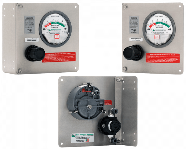 Best Purging Systems Model 101B Universal Mount Purge Unit - UL Listed NFPA 496 Type Z Enclosure Purging Unit and Type Z Pressurization System, less Pressure Loss Alarm Switch