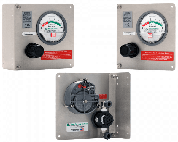 Best Purging Systems Model 101C Universal Mount Purge Unit - UL Listed NFPA 496 Type Z Enclosure Purging Unit and Type Z Pressurization System, less Pressure Loss Alarm Switch